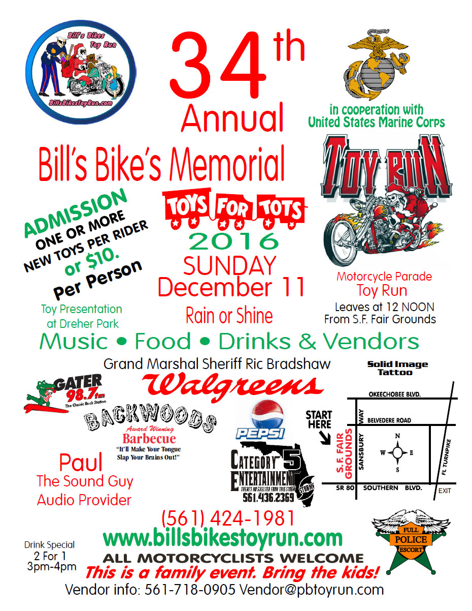 Toy Run Flyer